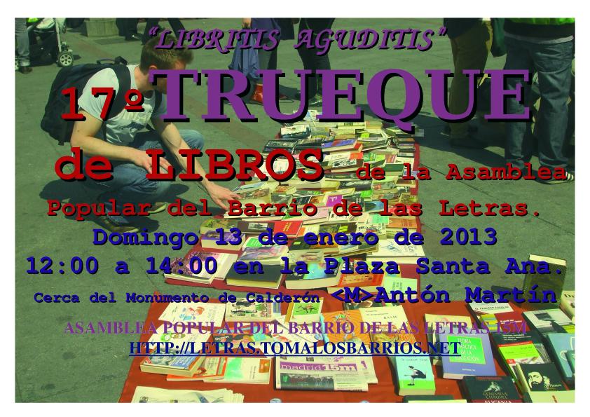 BDL CARTEL  TRUEQUE enero 2013 copia